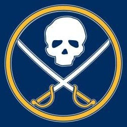 Image of Skull and Sabres hockey shirt