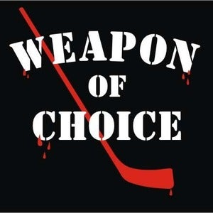 Image of Weapon of Choice hockey shirt