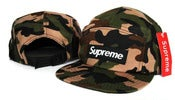 Image of NEW! Supreme Box Logo CAMO Camp Hat Strapback