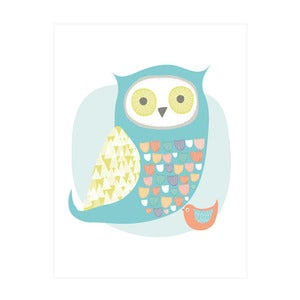 Image of Owl and the Birdie Art Print