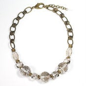 Image of minaret necklace: smoky