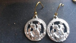 Image of St.Christopher Earrings