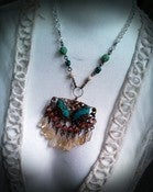 Image of Turquoise and Citrine Butterfly