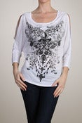 Image of CottyOn Apparel - Dolman Sleeve Print Top
