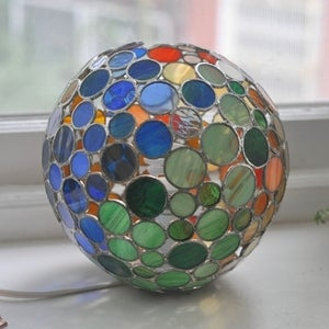 Image of Bubble Lamp, Colors of Nature