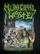 Image of MUNICIPAL WASTE ART OF PARTYING T SHIRT