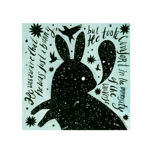 Image of Cosmic Bunny - Limited Edition Archival Inkjet Print