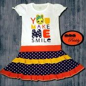 Image of **SOLD OUT** You Make Me Smile Bunny Dress - size 5/6/7
