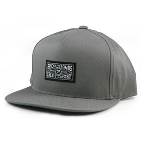 Image of Union Snapback Hat Grey