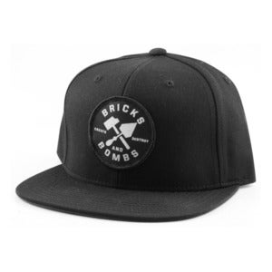 Image of B&B Logo Snapback Black