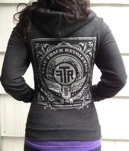 Image of  FTR Hoodie in Tri-Blend Black