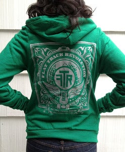 Image of  FTR Hoodie in Vintage Green
