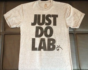 Image of Just Do LaB Unisex Tee - Heather Gray