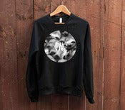 Image of SLOTH Life Tag Black Crew Neck Jumper