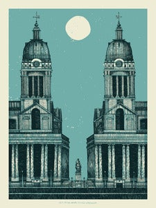 Image of Old Royal Naval College // ArtPrint 18x24