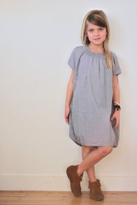 Image of TUSS dagmar dress cloud grey -30%