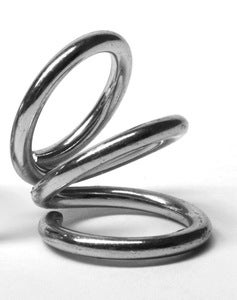 Image of SEROTONIN SPIRELLO Ring silver
