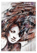 Image of &quot;Soulful Contemplation&quot; OPEN EDT PRINT on 315gsm 100% Cotton Rag Paper