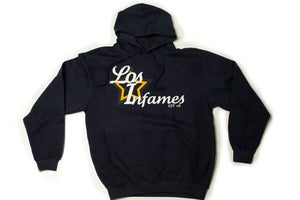Image of Infamous &quot;Los Infames&quot; Navy Hoodie