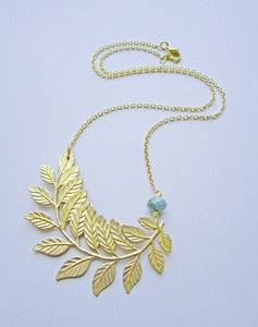 Image of Laurel Leaf Necklace