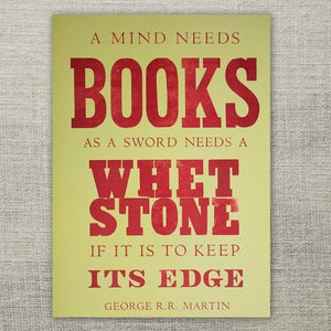 Image of A Mind Needs Books