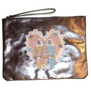 Image of Budgie Lovin' Clutch Bag