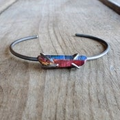 Image of Astrid's Treasure Bangle in Oxidized Sterling Silver