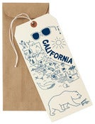 Image of California Mapnote Card