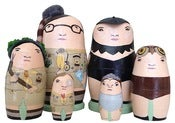Image of Mini Moonrise Kingdom Nesting Doll Sets