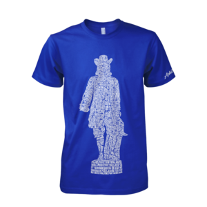Image of William Penn Statue Tee (Royal)