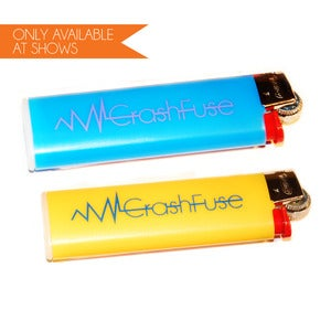 Image of CrashFuse Bic Slimline Lighters (only available at shows)