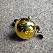 Image of solid brass bicycle bell