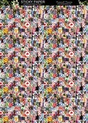 Image of Cromwell Ransom Letters Sticky Paper - A4 Self-Adhesive Patterned Paper (2 Sheets) Shape N Tape