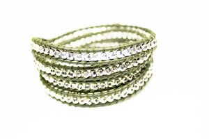 Image of NEW IN! OLIVE GROVE Leather Wrap