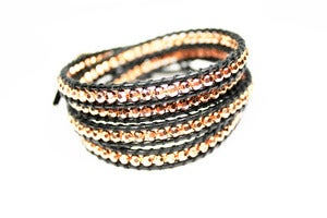 Image of NEW IN! CARBON &amp; ROSE Leather Wrap