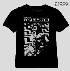 Image of [LIMITED 49] VOGUE WITCH SHIRT EDITION BLACK SPRING - (A) HOW'S ANNIE