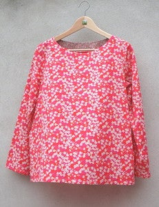 "Image of Blouse ""Audrey"" en Liberty"