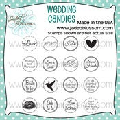 Image of Wedding Candies (4x4) ~Peachy