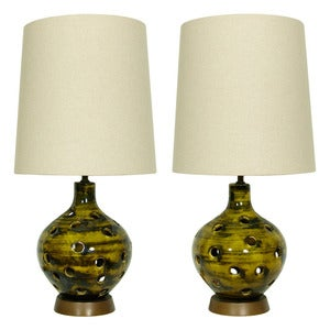 Image of The Lawrence Twins - Restyled Vintage Table Lamps