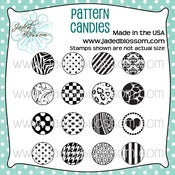 Image of Pattern Candies (4x4) ~ Peachy