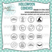 Image of Halloween Candies (4x4) ~ Peachy