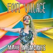 "Image of FOOT VILLAGE make memories 12"", cd, cassette"