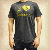 Image of I Heart Pittsburgh Tee