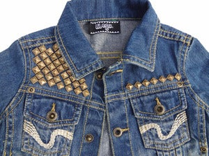 Image of Beats & Bling- Denim Jacket