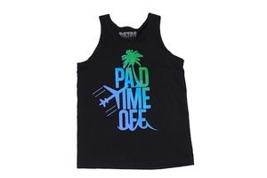 Image of Paid Time Off Tanktop (Black)
