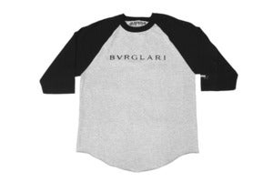 Image of Bvrglari Raglan (Black/ Grey)