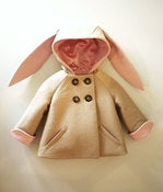 Image of Bunny Coat in Pink or Blue