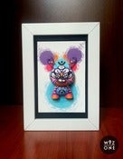 "Image of 3"" Dunny in a Frame"