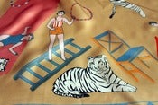 Image of Mabel Stark the Tiger Tamer Silk Scarf