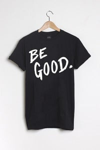 T-shirt design Be Good - Black